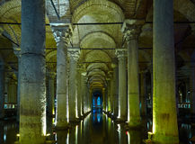 Basilica Cistern Royalty Free Stock Photo