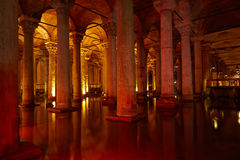 Basilica Cistern Stock Photography