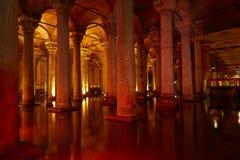 Basilica Cistern. Yerebatan Saray - Basilica Cistern in Istanbul, Turkey stock photography