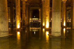 The Basilica Cistern (Yerebatan Sarnici) Stock Photography