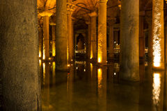 The Basilica Cistern (Yerebatan Sarnici) Royalty Free Stock Photo