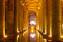 The Basilica Cistern (Yerebatan Sarnici) Royalty Free Stock Photos