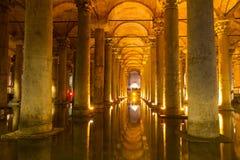 The Basilica Cistern (Yerebatan Sarnici) Royalty Free Stock Image