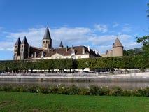 basilica coeur du le monial paray sacr 库存图片