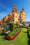 Basilica Colegiata de Nuestra Senora de Guanajuato Mexico royalty free stock photos
