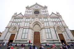 basilica croce di圣诞老人 库存图片