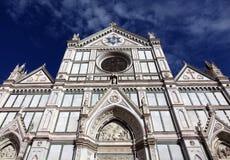 basilica croce di santa Royaltyfri Fotografi