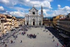 basilica croce di santa Royaltyfri Foto