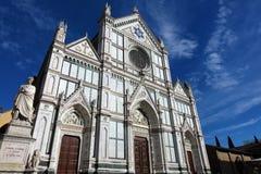 basilica croce di santa Royaltyfria Bilder