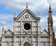 basilica croce di santa Royaltyfri Bild