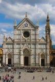 basilica croce di santa Royaltyfria Foton