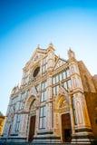 basilica croce di santa arkivbilder