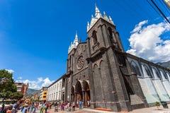 Basilica DE Baños stock foto's