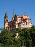 Basilica de Covadonga, Spain Royalty Free Stock Images