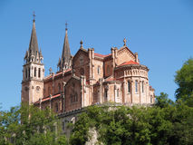 Basilica de Covadonga, Spain Royalty Free Stock Photography