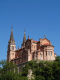 Basilica de Covadonga, Spain Stock Photography