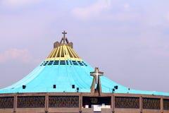 Basilica de Guadalupe I. Basilica de Guadalupe, mexico city Stock Photos