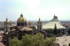 Basilica de Guadalupe Royalty Free Stock Images