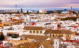Basilica de la Macarena Spanish Houses Seville Spain Stock Photography