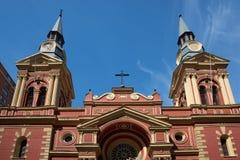 Basilica de la Merced. Historic Basilica de la Merced in the centre of Santiago, capital of Chile Stock Photography