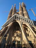 Basilica de la Sagrada Familia, Barcelona Royalty Free Stock Photography