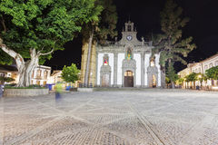 Basilica de Nuestra Señora del Pino in Teror Stock Photo