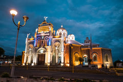 Basilica de Nuestra Senora de los Angeles. In the city of Cartago, Costa Rica Stock Image