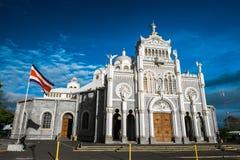 Basilica de Nuestra Senora de los Angeles Royalty Free Stock Images