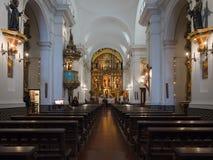 Basilica de Nuestra Senora del Pilar, Buenos Aires, Argentina Fotografie Stock Libere da Diritti
