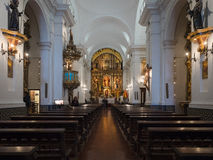Basilica de Nuestra Senora del Pilar, Buenos Aires, Argentine Photos libres de droits