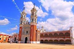 Basilica de ocotlan II Stock Photos