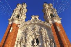 Basilica de ocotlan IX Royalty Free Stock Photo