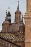 Basilica de pilar Fotografia Stock Libera da Diritti