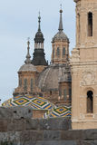 Basilica de pilar Immagini Stock Libere da Diritti