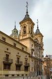 Basilica de San Juan de Dios, Granada, Spain. Basilica de San Juan de Dios is beautiful Baroque buildings in Granada, Spain Stock Photo