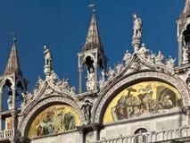 Basilica de San Marco i Venedig - Italien Royaltyfri Foto