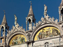 Basilica de San Marco in Venice - Italy Royalty Free Stock Photo