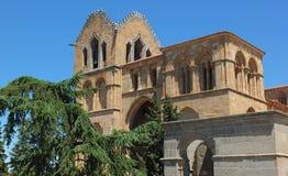 Basilica de SAN Vicente Στοκ εικόνες με δικαίωμα ελεύθερης χρήσης