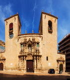 Basilica de Santa Maria in  Alicante, Spain Royalty Free Stock Photography
