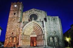 Basilica de Santa Maria de Castellon de Ampurias in Girona, Spain Stock Photography