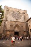 Basilica de Santa Maria del Pi Royalty Free Stock Images