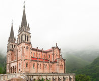 Basilica de Santa Maria in Spain, Covadonga Royalty Free Stock Photography