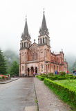 Basilica de Santa Maria in Spain, Covadonga Stock Photos