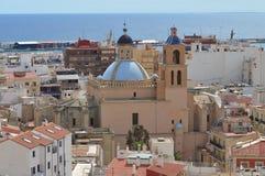 The Basilica De Santa Maria - Historic Church Arcitecture Royalty Free Stock Image