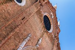 Basilica dei Frari Stock Photography
