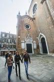 Basilica dei Frari in Venice Royalty Free Stock Image