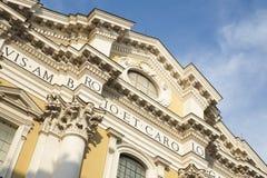 Basilica dei Santi Ambrogio e Carlo al Corsol C Stock Photos