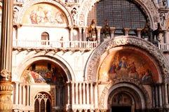 Basilica dei St-Contrassegni, Venezia Fotografie Stock