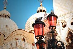 Basilica del contrassegno santo, Venezia Immagini Stock