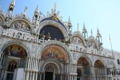 Basilica del contrassegno santo, Venezia fotografia stock